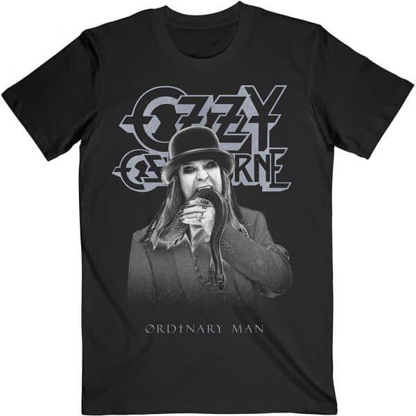 Ozzy Osbourne Mens T-Shirt: Ordinary Man Snake Ryograph (XX-Large)