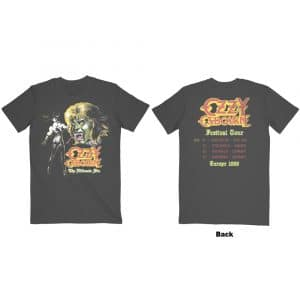 Ozzy Osbourne Mens T-Shirt: Ultimate Remix (Back Print) (XX-Large)