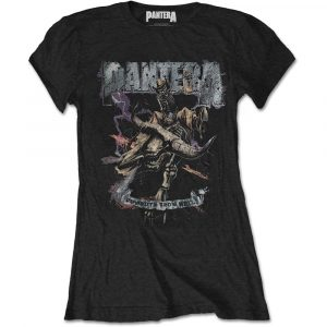 Pantera Ladies T-Shirt: Vintage Rider (XX-Large)