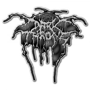 Darkthrone Pin Badge: Logo (Retail Pack)