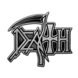 Death Pin Badge: Logo (Retail Pack)