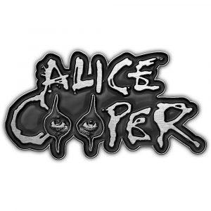 Alice Cooper Pin Badge: Eyes