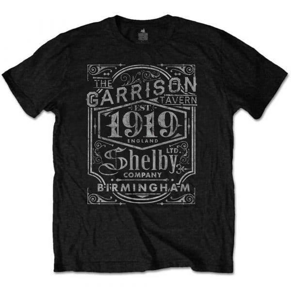 Peaky Blinders Mens T-Shirt: Garrison Pub (XX-Large)