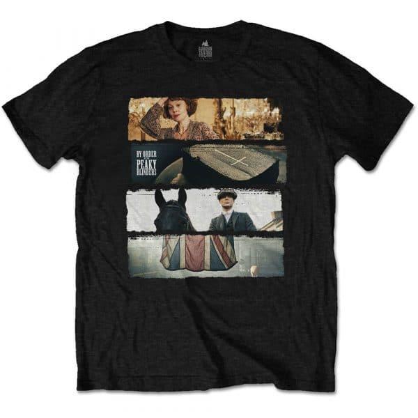 Peaky Blinders Mens T-Shirt: Slices (XX-Large)