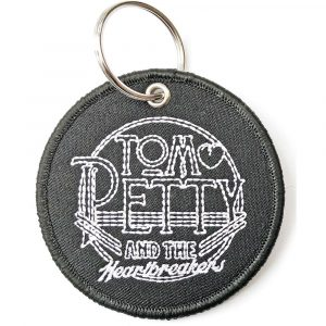 Tom Petty & The Heartbreakers Keyring: Circle Logo (Double Sided Patch)