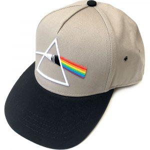 Pink Floyd Unisex Snapback Cap: Dark Side of the Moon Prism