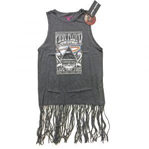 Pink Floyd Ladies T-Shirt Dress: Carnegie Hall (Tassels) (XX-Large)