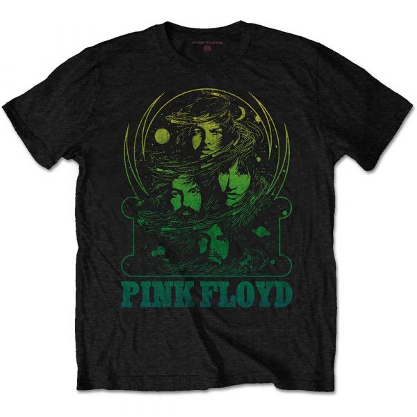 Pink Floyd Mens T-Shirt: Green Swirl (XX-Large)