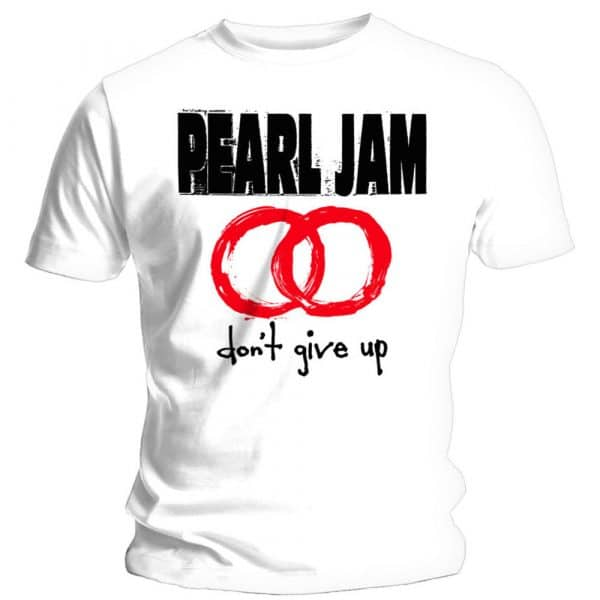 Pearl Jam Mens T-Shirt: Don't Give Up (XX-Large)