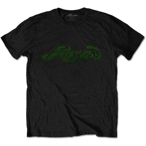 Poison Mens T-Shirt: Vintage Logo (XX-Large)