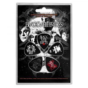 Black Veil Brides Plectrum Pack: Skull (Retail Pack)