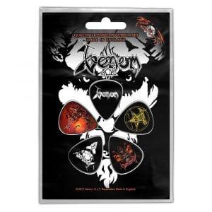 Venom Plectrum Pack: Black Metal (Retail Pack)