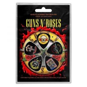 Guns N' Roses Plectrum Pack: Bullet Logo (Retail Pack)
