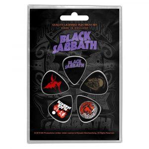 Black Sabbath Plectrum Pack: Purple Logo (Retail Pack)