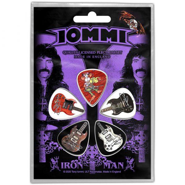 Tony Iommi Plectrum Pack: Iron Man