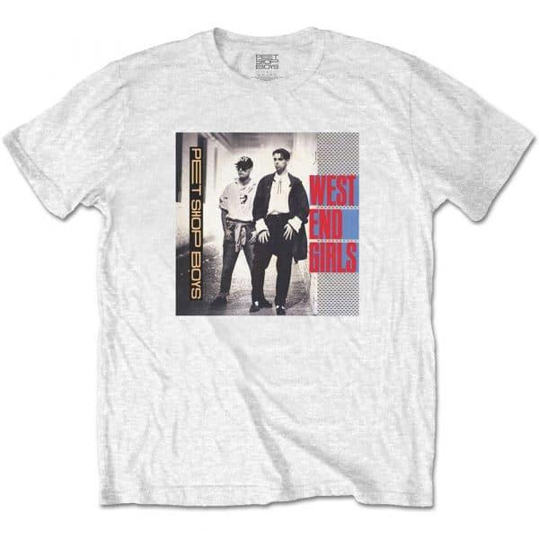 Pet Shop Boys Mens T-Shirt: West End Girls (XX-Large)