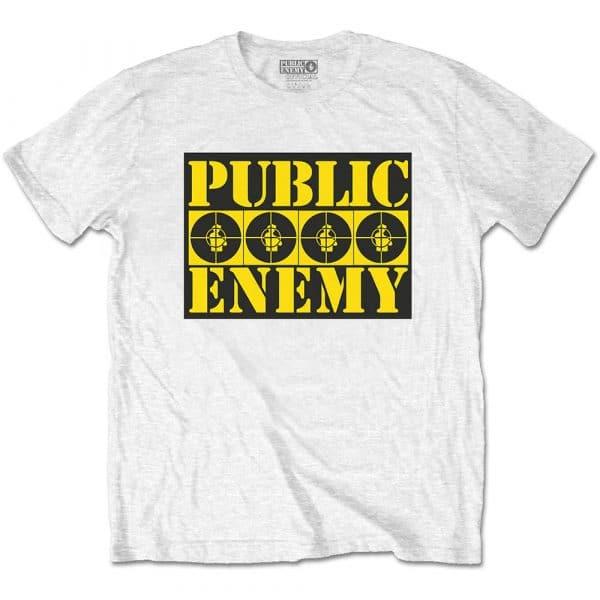 Public Enemy Mens T-Shirt: Four Logos (XX-Large)