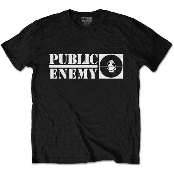 Public Enemy Mens T-Shirt: Crosshairs Logo (XX-Large)