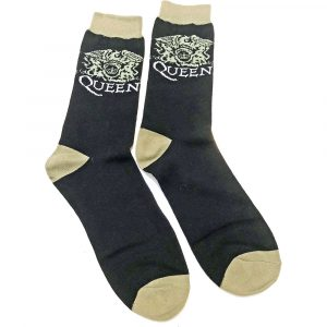Queen Unisex Ankle Socks: Crest (UK Size 7 - 11)