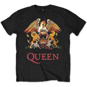 Queen Mens T-Shirt: Classic Crest (XX-Large)