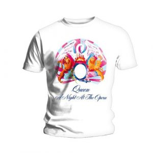 Queen Mens T-Shirt: A Night At The Opera (XX-Large)