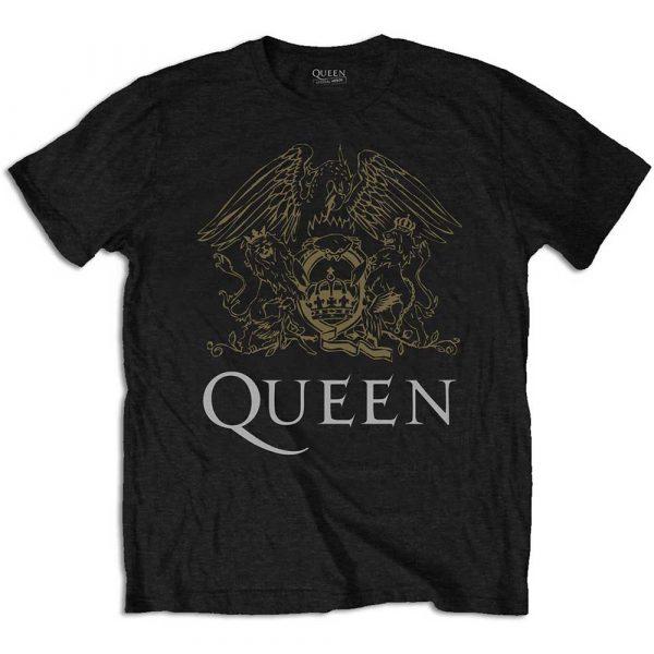 Queen Mens T-Shirt: Crest (XX-Large)