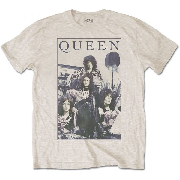 Queen Mens T-Shirt: Vintage Frame (XX-Large)
