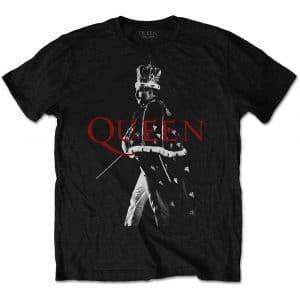 Queen Mens T-Shirt: Freddie Crown (XXX-Large)