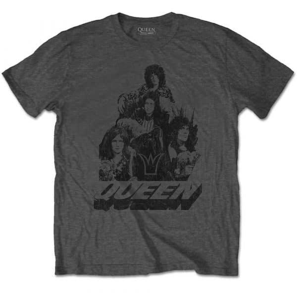Queen Mens T-Shirt: 70s Photo (XX-Large)