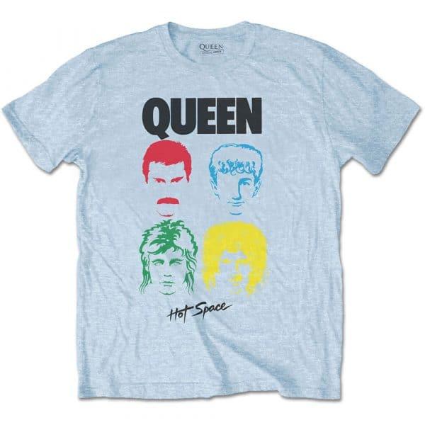 Queen Mens T-Shirt: Hot Space Album (XX-Large)