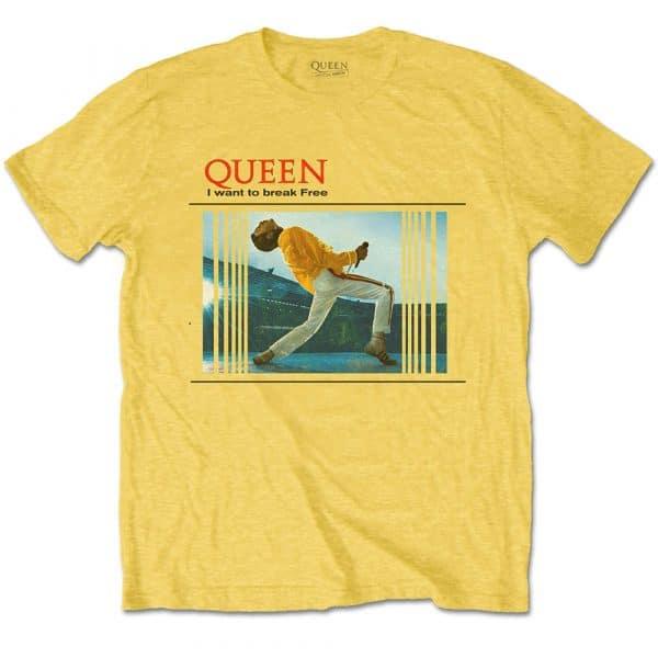 Queen Mens T-Shirt: Break Free (XX-Large)