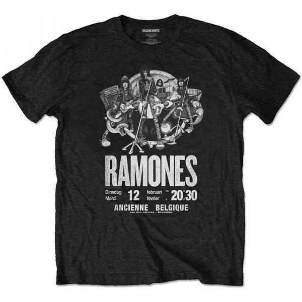 Ramones Mens Eco-T-Shirt: Belgique (XX-Large)