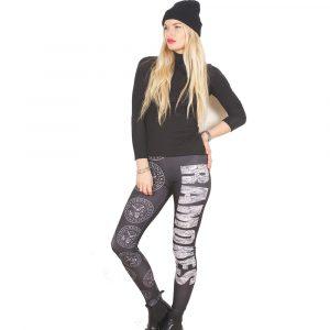 Ramones Ladies Fashion Leggings: Presidential Seal (Large to X-Large)