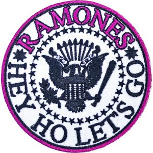 Ramones Standard Patch: Hey Ho Let's Go V. 1