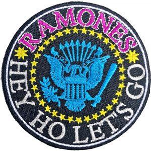 Ramones Standard Patch: Hey Ho Let's Go V. 2