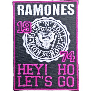 Ramones Standard Patch: High School
