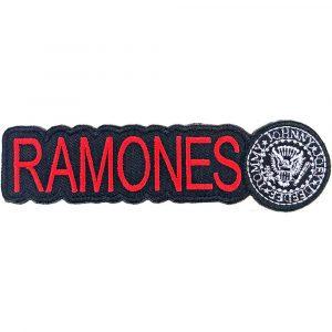 Ramones Standard Patch: Logo & Seal