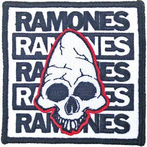 Ramones Standard Patch: Pinhead