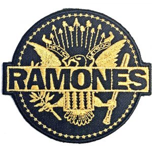 Ramones Standard Patch: Gold Seal