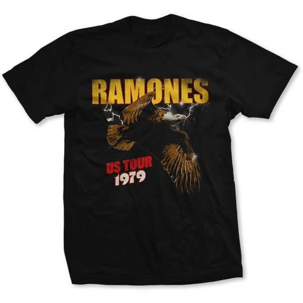 Ramones Mens T-Shirt: Tour 1979 (XX-Large)
