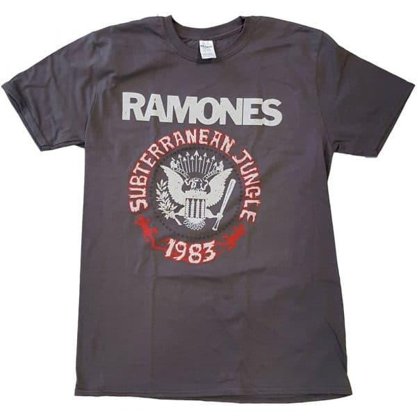 Ramones Mens T-Shirt: Subterraneun Jungle (XX-Large)