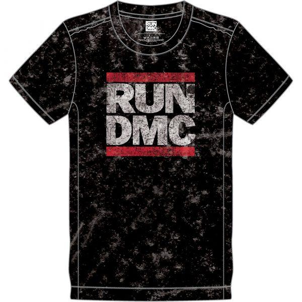 Run DMC Mens T-Shirt (Snow Wash): Logo (XX-Large)