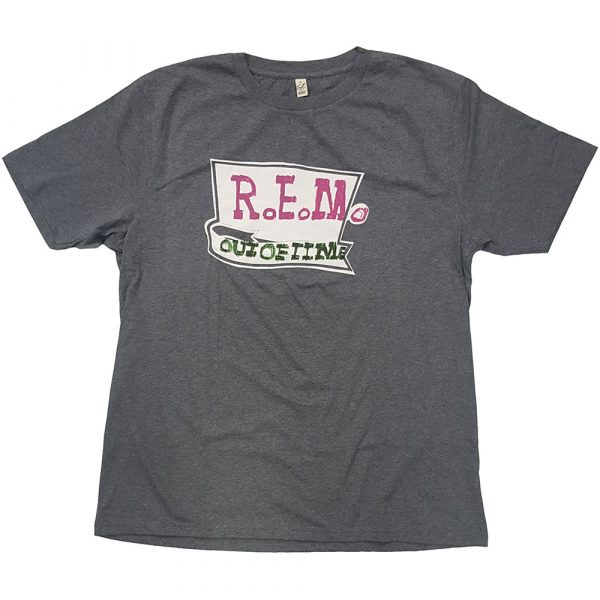 R.E.M. Mens T-Shirt: Out Of Time (XX-Large)