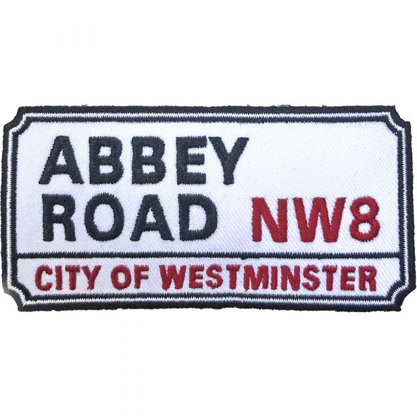 Road Sign Standard Patch: Abbey Road