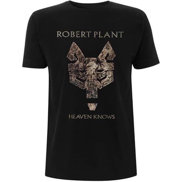 Robert Plant Mens T-Shirt: Heaven Knows (XX-Large)