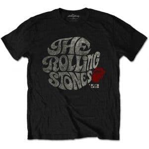 The Rolling Stones Mens Eco-T-Shirt: Swirl Logo '82 (XX-Large)