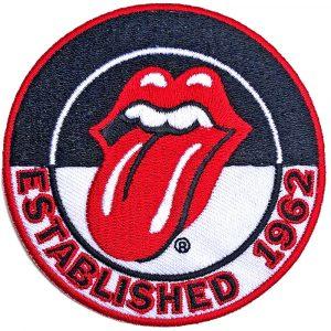 The Rolling Stones Standard Patch:Est 1962 Version 2.