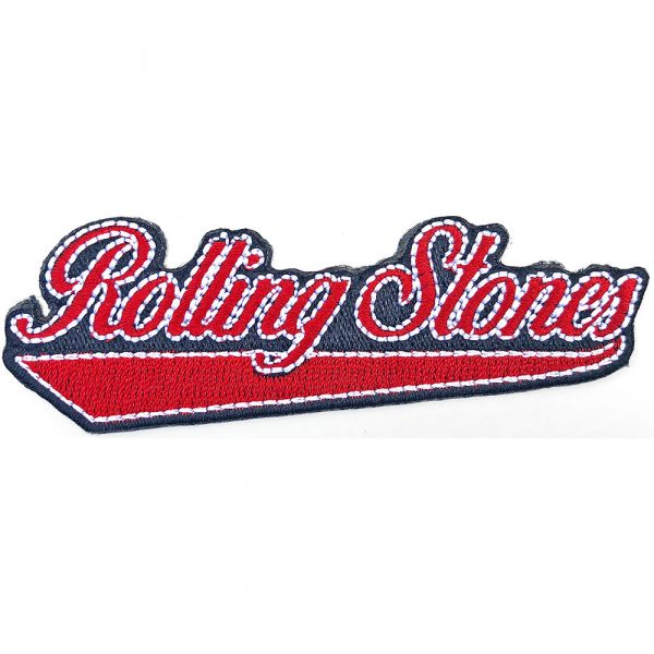 The Rolling Stones Standard Patch: Baseball Script