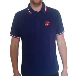 The Rolling Stones Mens Polo Shirt: Classic Tongue (XX-Large)