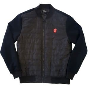 The Rolling Stones Mens Quilted Jacket: Classic Tongue (XX-Large)